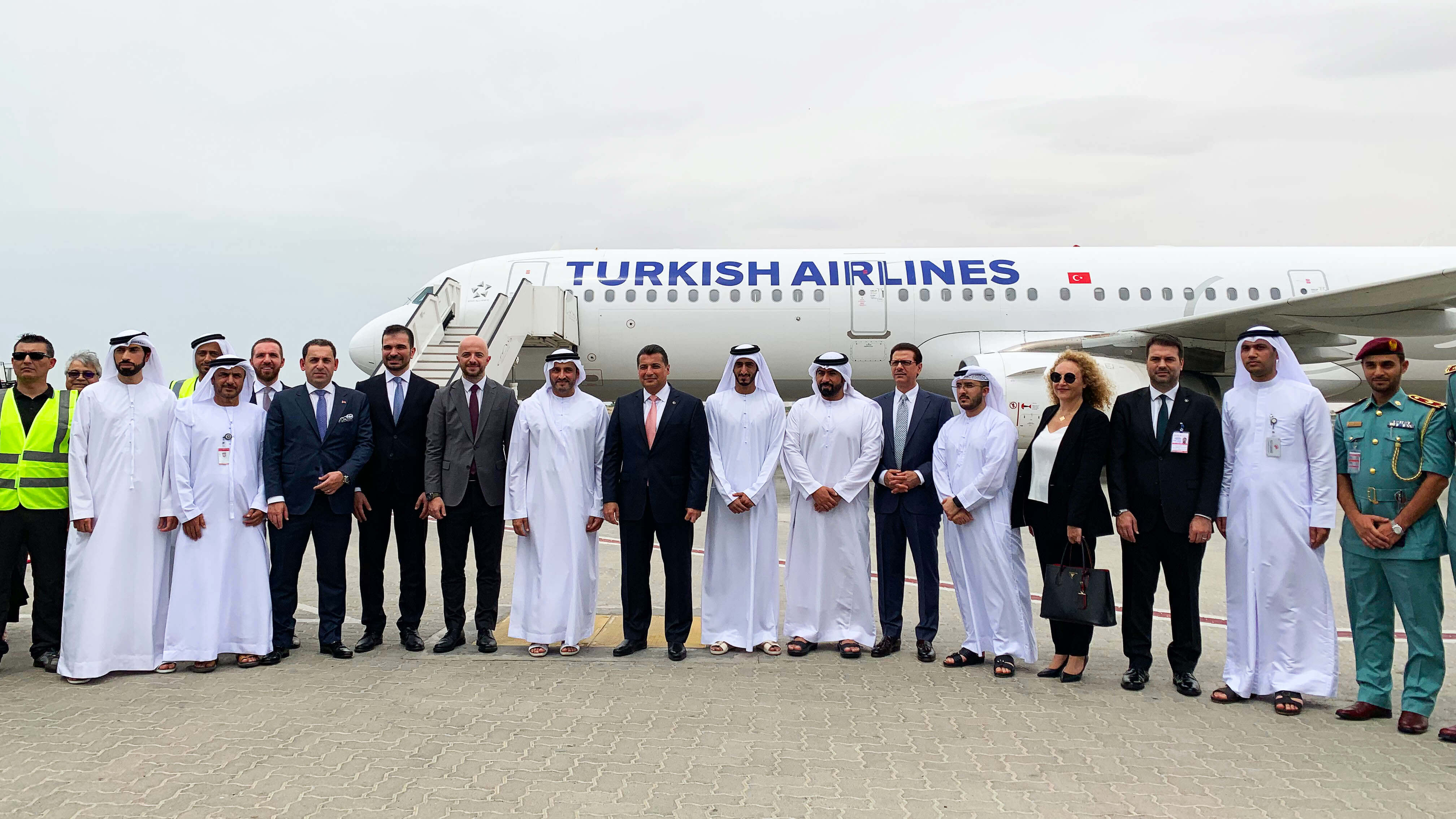 Turkish Airlines добавила в сеть маршрутов Шарджу